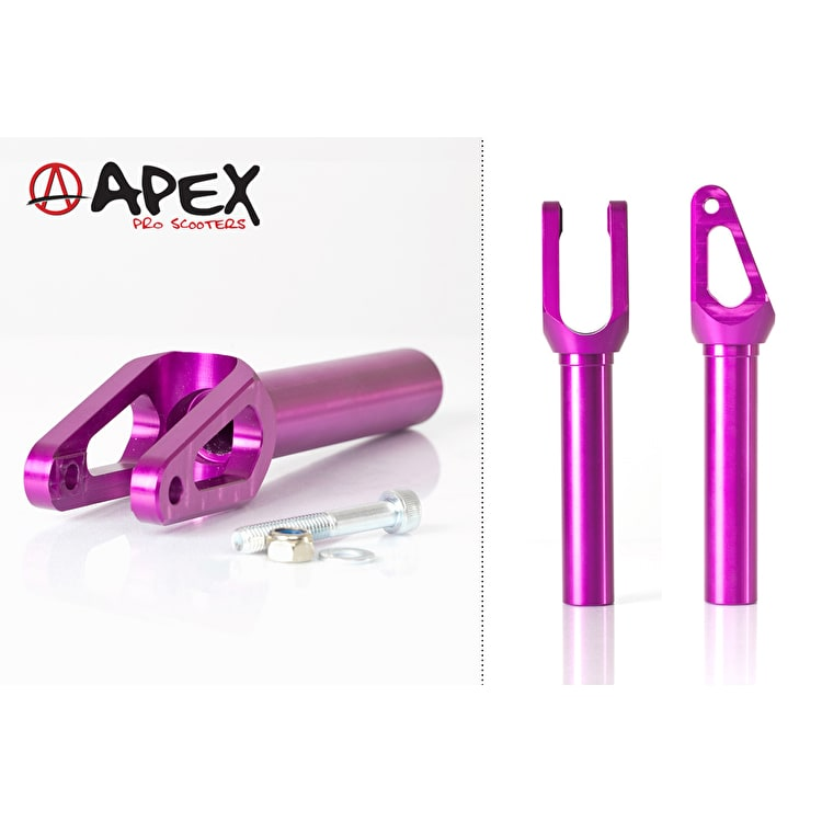 APEX Pro Quantum Scooter Fork - Purple