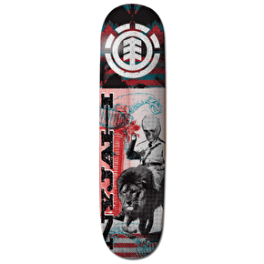 Element Overprint Skateboard Deck - Nyjah 8