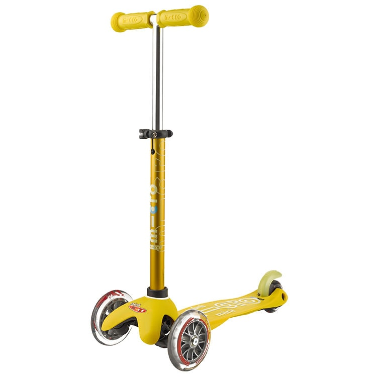 Mini Micro Deluxe Complete Scooter - Yellow