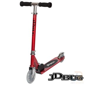 JD Bug Junior Street Scooter - Red Glow
