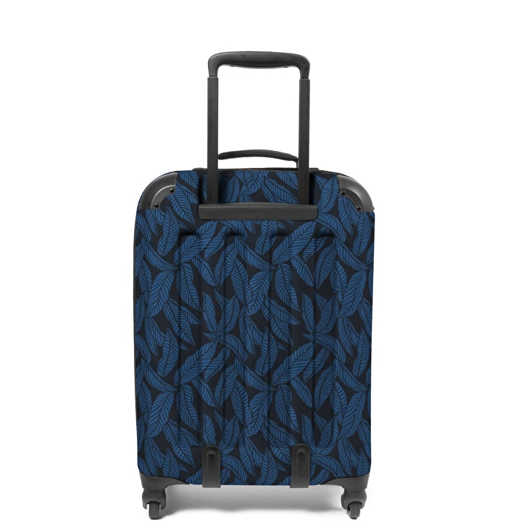 Eastpak Tranzshell S Wheeled Luggage - Leaves Blue