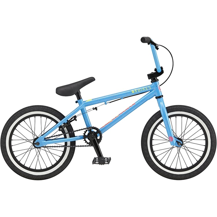 GT Performer Lil Complete BMX Bike - Blue