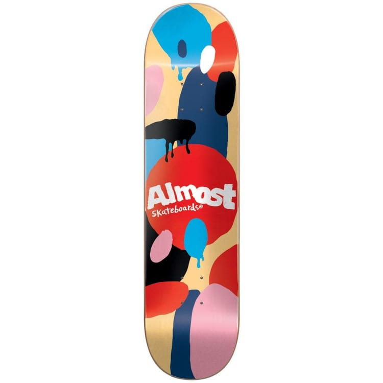 """Almost Spotted HYB Skateboard Deck - Cream 7.75"""""""