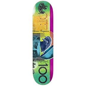 Real Chima Green Soldier Full Shape Skateboard Deck - 8.06