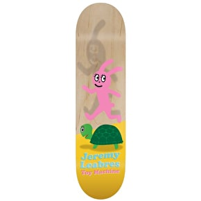 Toy Machine Leabres Turtle & Hare Skateboard Deck - 8.25