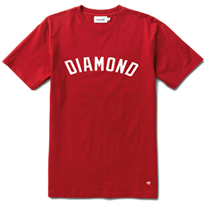 Diamond Arch T-Shirt - Heather Red
