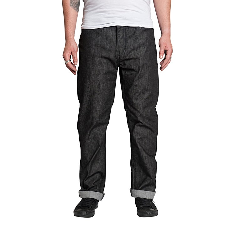 Kr3w K Klassic Fit Jeans - Raw Black