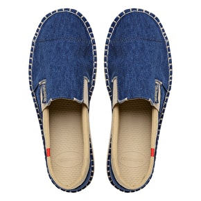 B-Stock Havaianas Origine Yacht Espadrilles - Navy UK 9 (Box Damage)