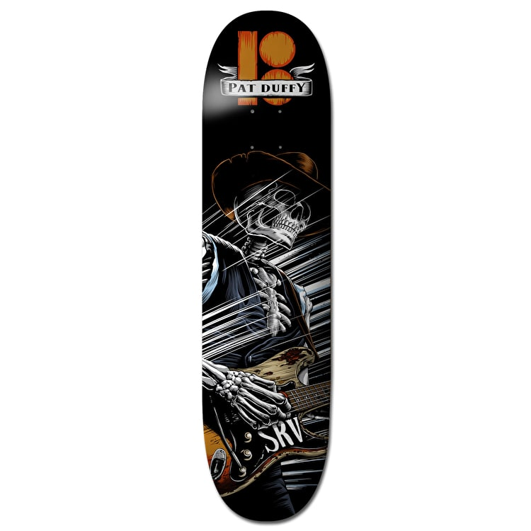 Plan B Duffy Cold Shot BLK ICE Skateboard Deck - 8.375""