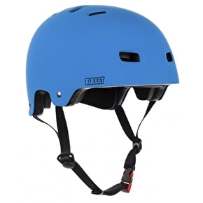 B-Stock Bullet Grom Kids Helmet - Matte Blue Medium 52-53cm (Box Damage)