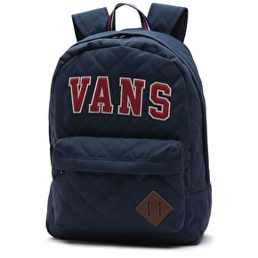 Vans Old Skool Plus Backpack - Dress Blues/Chili Pepper