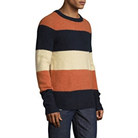 WeSC Aaron Knitted Sweater - Striped