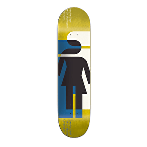 Girl Hardcourt Skateboard Deck - Biebel 8