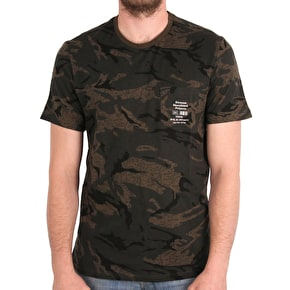 Element Plummer T-Shirt - Map Camo
