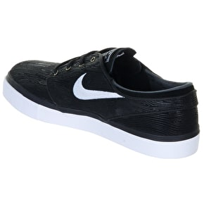 Nike SB Zoom Stefan Janoski PR SE Shoes - Black/White