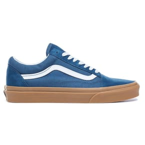Vans Old Skool Skate Shoes - Reflecting Pond/Gum