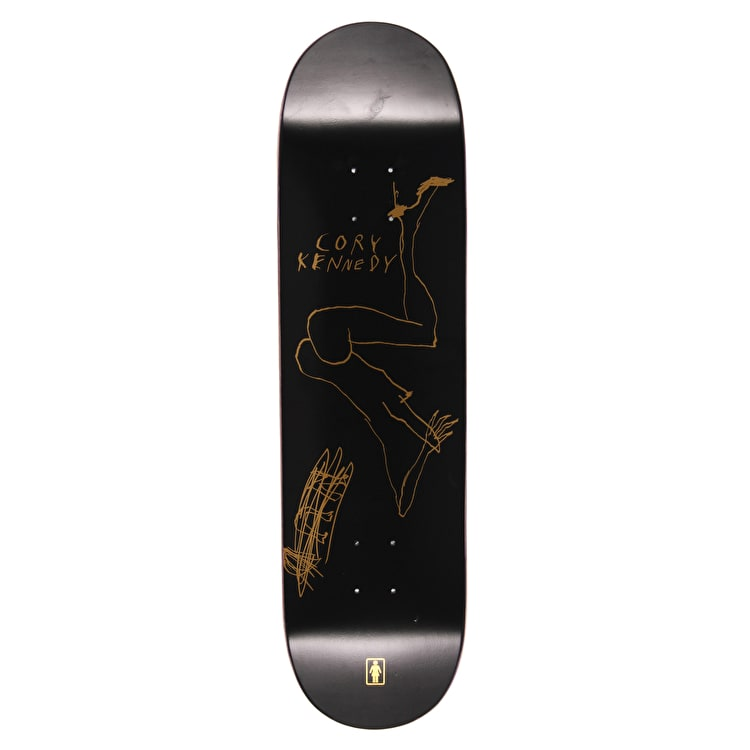 Girl x Stef Mitchell Kennedy Skateboard Deck - 8.5""