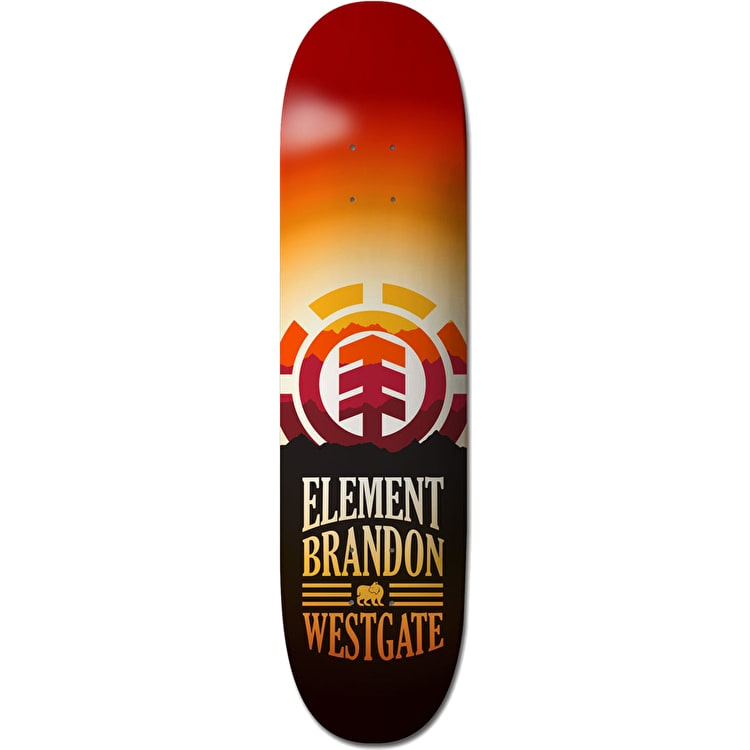 Element Hues Skateboard Deck - Westgate 8""