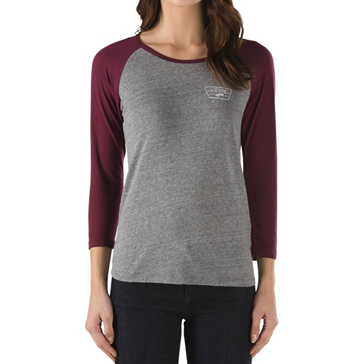 Vans Authentic Trap Womens Raglan- Heather/Port Royale