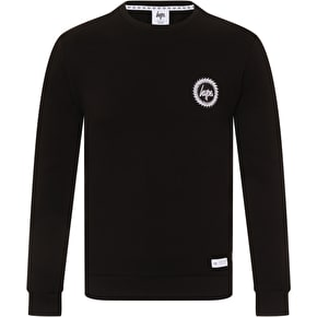 Hype Crest Crewneck - Black