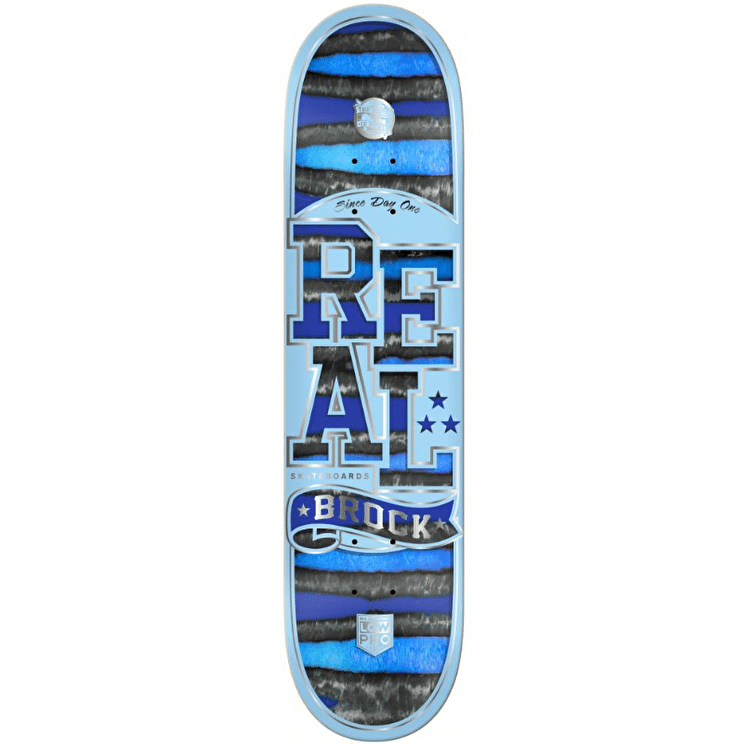 Real Low Pro Spectrum Brock Skateboard Deck - 8.5""