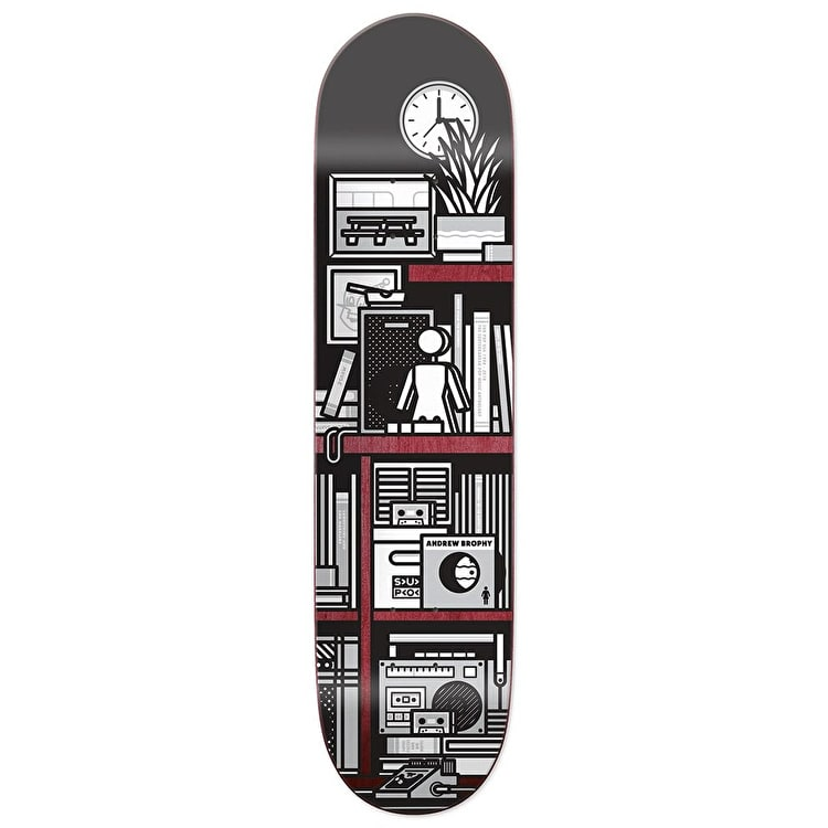 Girl SUBPOP Skateboard Deck - Brophy 8.125""
