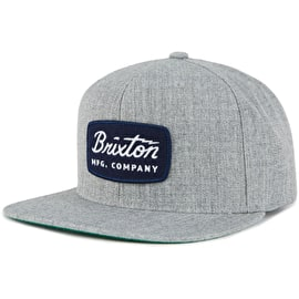 Brixton Jolt Snapback Cap - Heather Grey