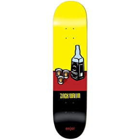 Enjoi Wray R7 Skateboard Deck - Wallin 8