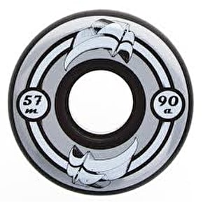 Razors 3D Aggressive Inline Wheels 57mm-90A Black