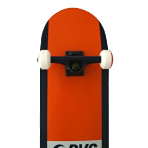 DVS Elevate Complete Skateboard - Orange 8.25