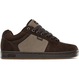 Etnies Barge XL Skate Shoes - Brown/Beige/Gum
