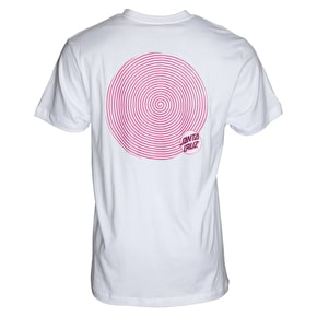 Santa Cruz Spiral Dot T-Shirt - White
