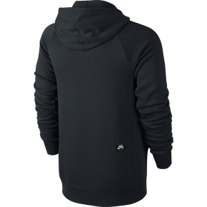 Nike SB Icon Full-Zip Hoodie - Black/White