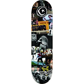 Foundation KOTR Star & Moon Skateboard Deck - 8.5