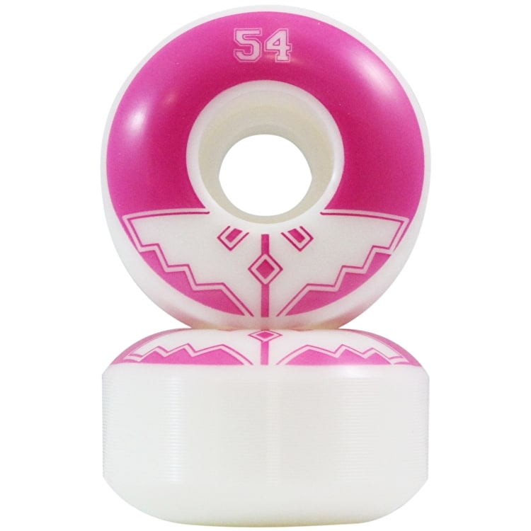 Fracture Uni Classic Skateboard Wheels - Pink 54mm