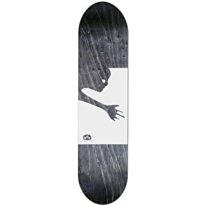 Alien Workshop Skateboard Deck - Ghost Black/White 8.5