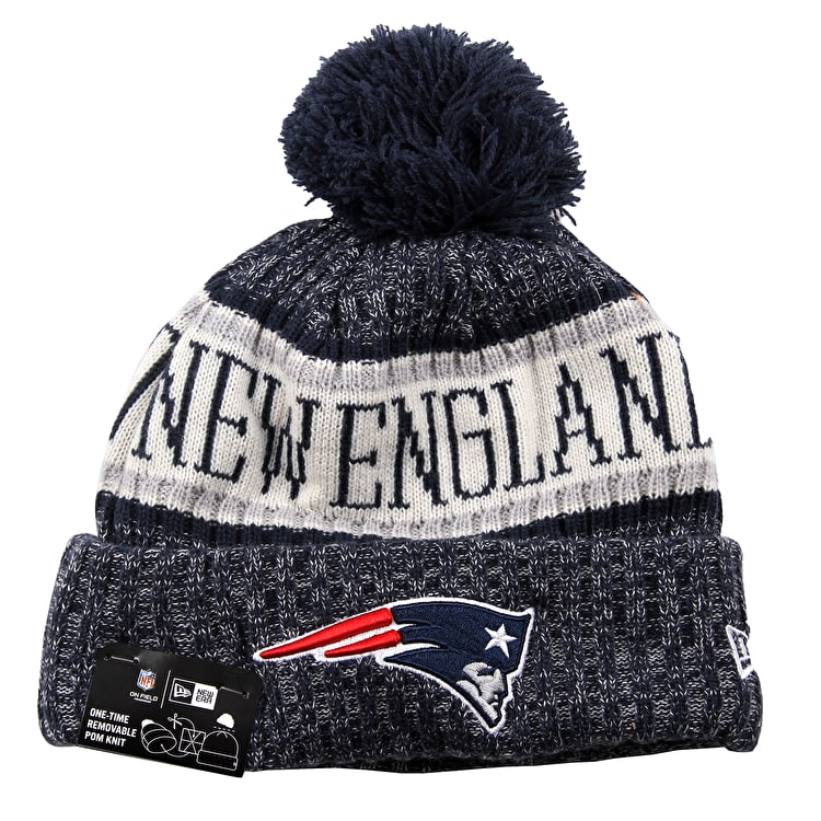New Era NFL Sideline Beanie 2018 - New England Patriots