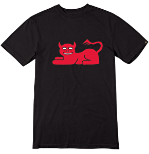 Emerica x Toy Machine Demoncat T-Shirt - Black
