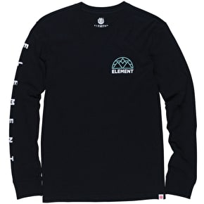 Element Terra Longsleeve T-Shirt - Flint Black