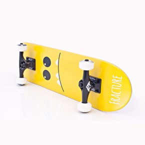 Fracture Mini Skateboard - Lil Monsters V2 Orange 7.25