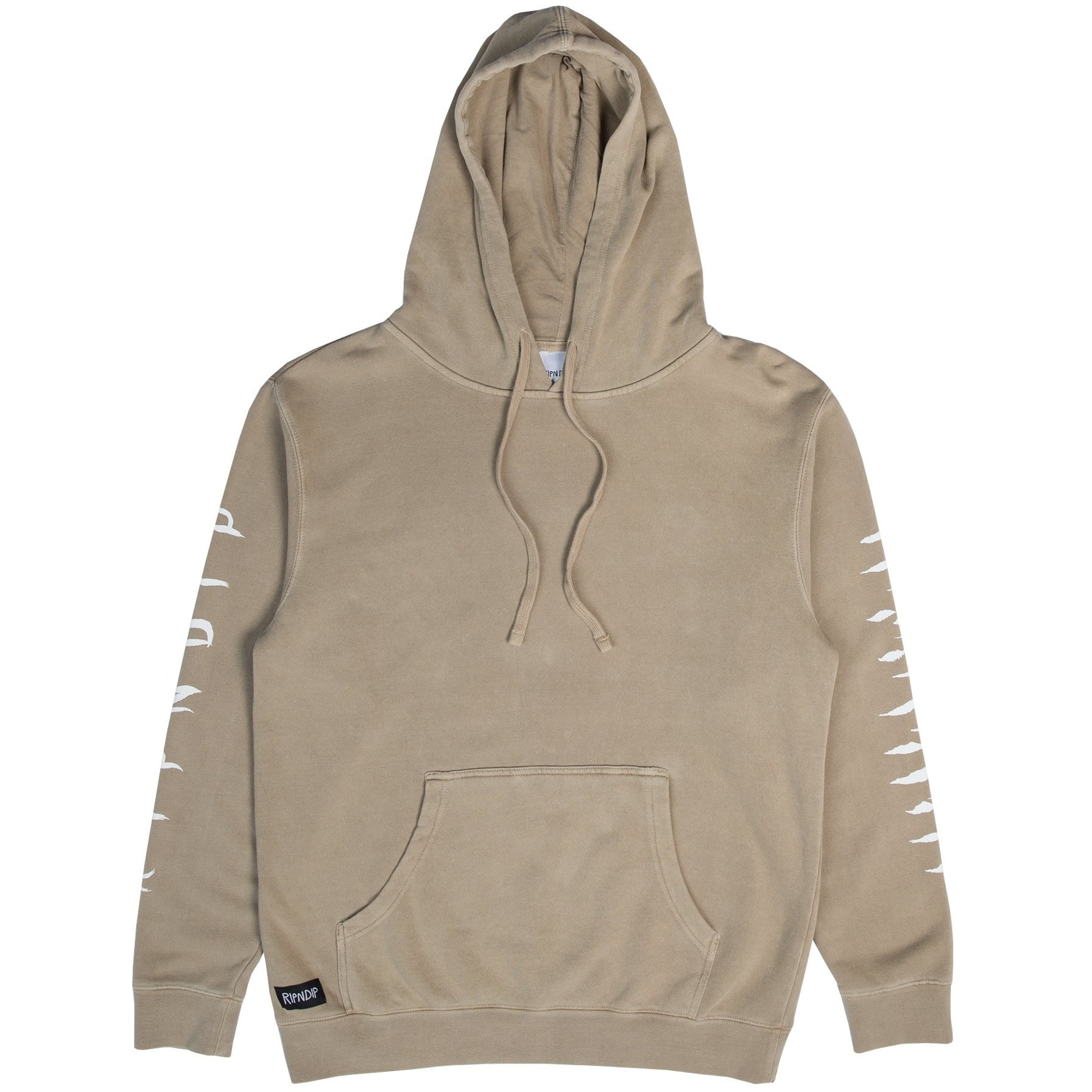 Image of RIPNDIP Tattoo Nerm Hoodie - Tan