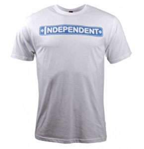 Independent Axle Bar T-Shirt - White