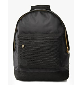 Mi-Pac Gold Backpack - Satin Mesh Black