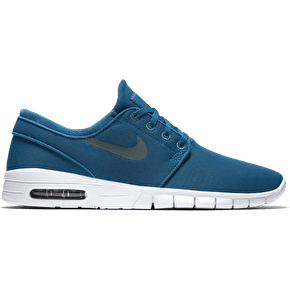 Nike SB Stefan Janoski Max Shoes - Green Abyss/White