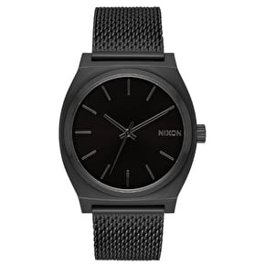 Nixon Time Teller Milanese Womens Watch - All Black