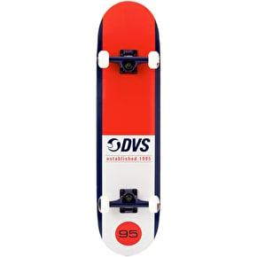 DVS Elevate Complete Skateboard - Red 7.75