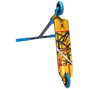 Crisp Inception 2016 Complete Scooter - Gold Anodized/Blue