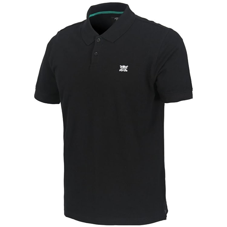 Fourstar Pirate Polo Shirt - Black S
