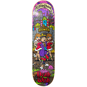 Deathwish Skateboard Deck - Story Time Ellington 8