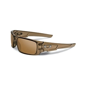 Oakley Polarized Crankshaft Sunglasses - Brown Smoke/Tungsten Iridium